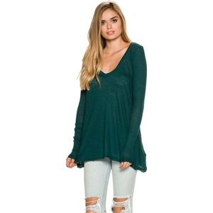 NWT Free People We The Free Anna Tee